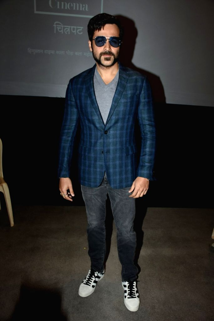 Actor Emraan Hashmi at the Kala Ghoda Art Festival 2018 in Mumbai on Feb 11, 2018. - Emraan Hashmi