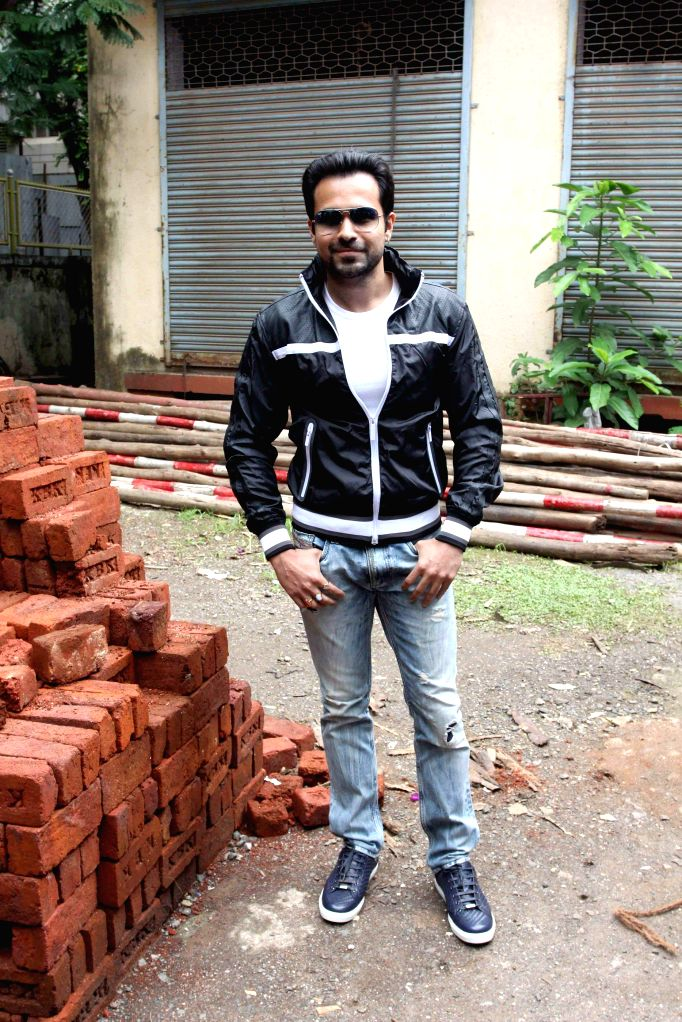 Actor Emraan Hashmi during the promotion of film Raja Natwarlal in Mumbai on August 10, 2014. - Emraan Hashmi