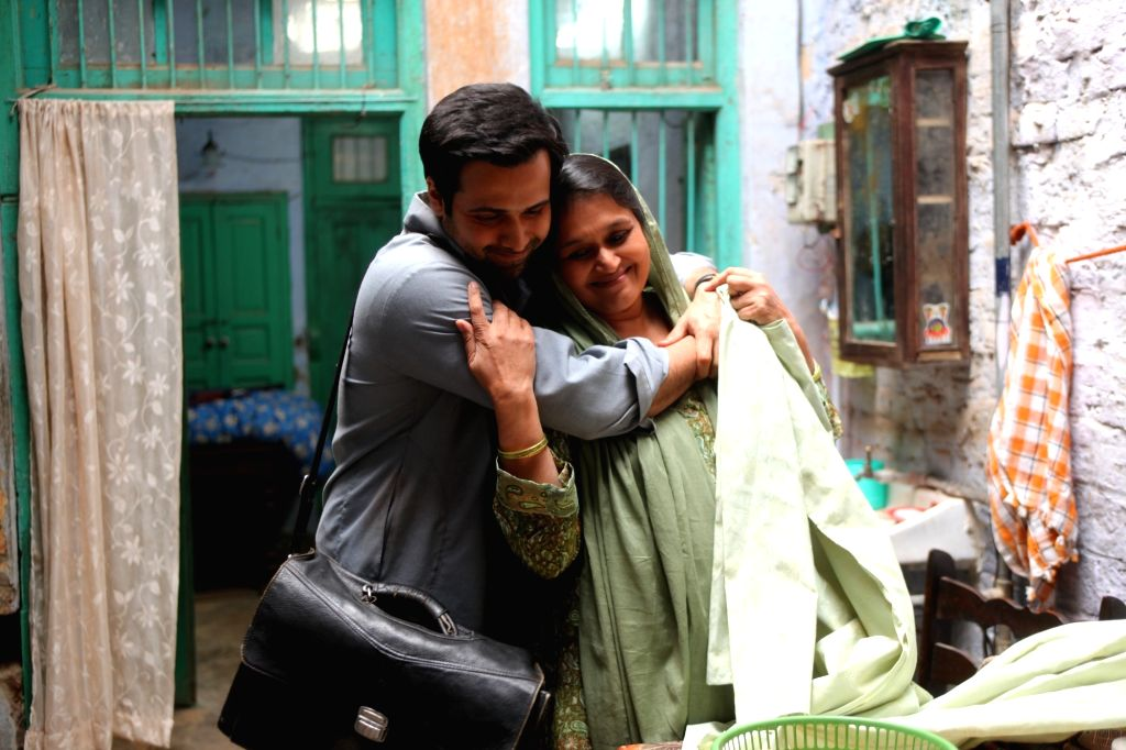 :Actor Emraan Hashmi with actress Supriya Pathak.