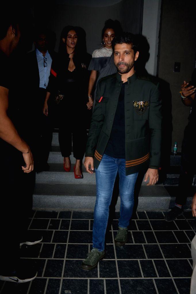 Actor Farhan Akhtar at Shantanu and Nikhil's store launch, in Mumbai on Dec 6, 2018. - Farhan Akhtar