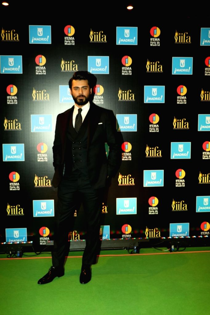 Actor Fawad Khan during IIFA Awards in Madrid on June 26, 2016. - Fawad Khan