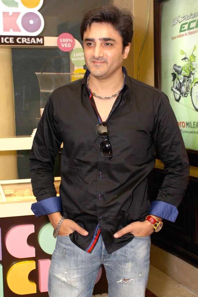 Actor Furqan Merchant during the press conference of his film ``Identity Card`` in New Delhi on August 23, 2014. - Furqan Merchant