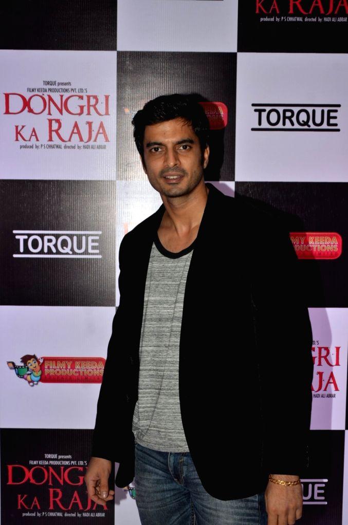 Actor Gashmeer Mahajani during the trailer launch of film Dongri Ka Raja in Mumbai on Oct 12, 2016. - Gashmeer Mahajani