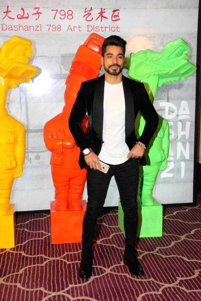 Actor Gautam Gulati during the Krishika Lull`s party, in Mumbai on July 2, 2016. - Gautam Gulati