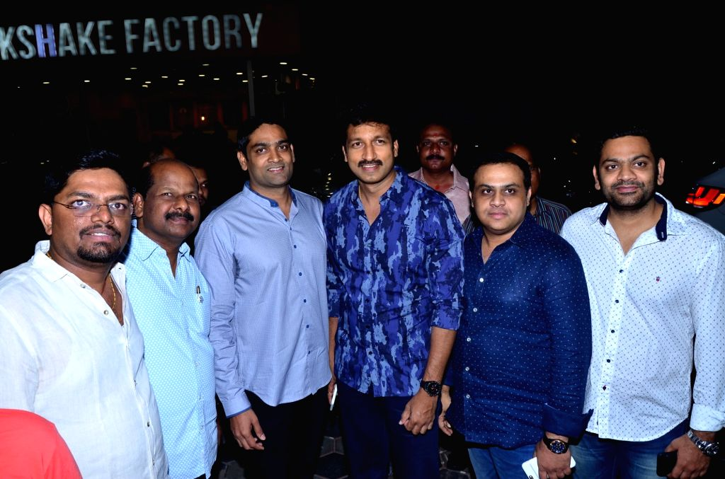 Actor Gopichand during a program in Hyderabad. (Photo: IANS)i - Gopichand