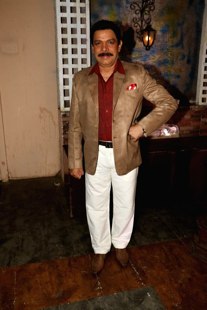 Actor Govind Namdeo during the on location shoot of upcoming film JD, in Mumbai, on Aug 17, 2015. - Govind Namdeo