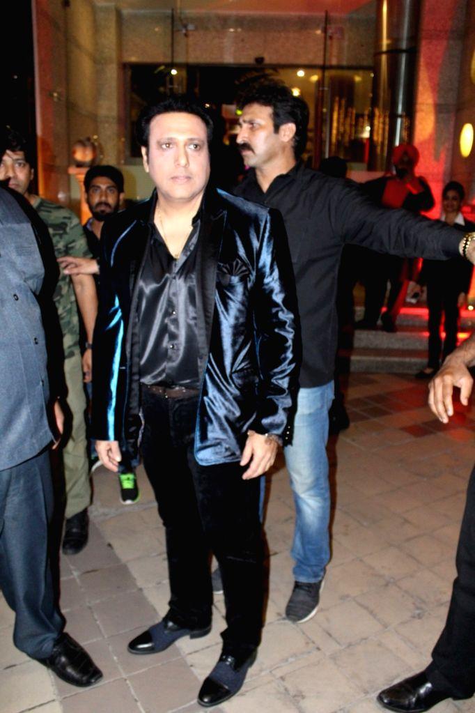 Actor Govinda during the unveiling of 3rd Bright Award Trophy in Mumbai on Jan 24, 2017 - Govinda