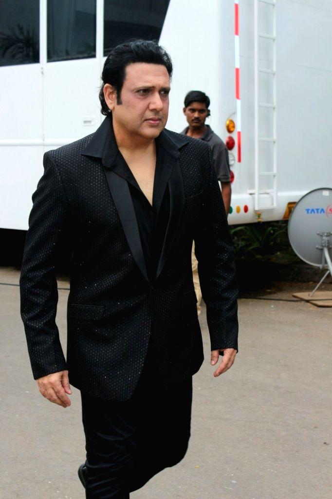"Actor Govinda on the sets of dance reality show ""Super Dancer - Chapter 2"" in Mumbai. - Govinda"