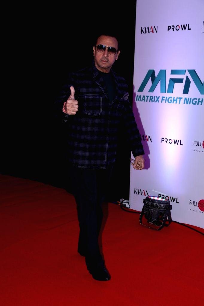 Actor Gulshan Grover at Matrix Fight Night Red Carpet in Mumbai, on March 12, 2019. - Gulshan Grover