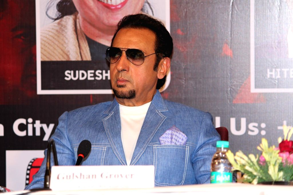 Actor Gulshan Grover at the inaugural programme of the third session of Gulshan Kumar Film and Television Institute of India (GKFTII), in Noida on July 21, 2018. - Gulshan Grover and Gulshan Kumar Film