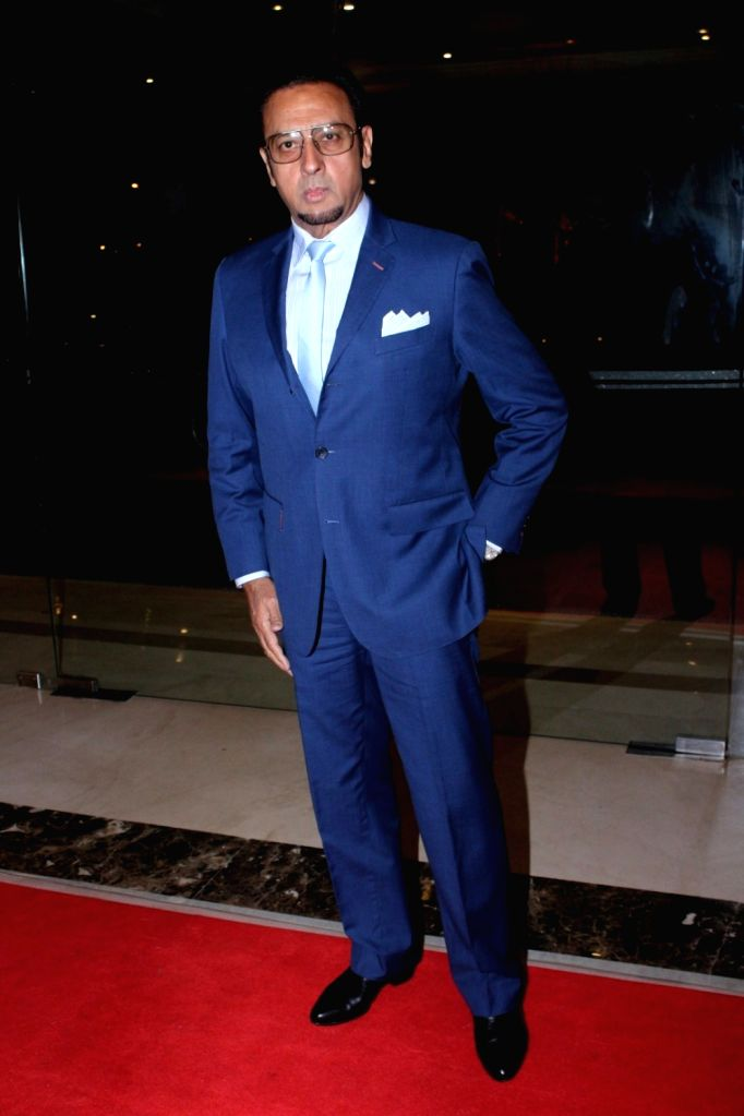 Actor Gulshan Grover during the 17th Indian Television Academy (ITA) Awards 2017 in Mumbai, on Aug 14, 2017. - Gulshan Grover