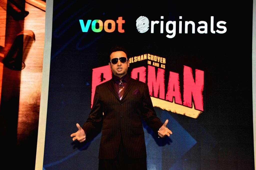 Actor Gulshan Grover during the launch of Viacom18's OTT platform Voot, in Mumbai, on March 29, 2016. - Gulshan Grover