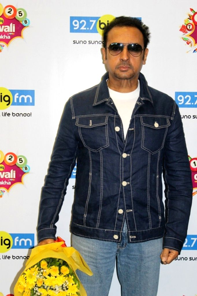 Actor Gulshan Grover during the promotion of upcoming 3D Animation film Mahayoddha Rama at 92.7 BIG FM in Mumbai on Oct 28, 2016. - Gulshan Grover