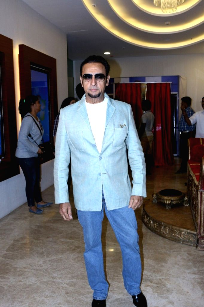 Actor Gulshan Grover during the trailer and music launch of upcoming 3D Animation film Mahayoddha Rama in Mumbai on Sept. 16, 2016. - Gulshan Grover
