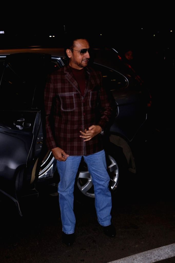 Actor Gulshan Grover spotted at Airport in Mumbai, on June 21, 2017. - Gulshan Grover