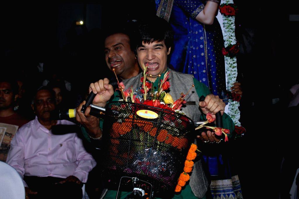 Actor Gurmeet Choudhary during the Sangeet Ceremony for film Laali Ki Shaadi Mein Laaddoo Deewana in Mumbai on March 21, 2017. - Gurmeet Choudhary