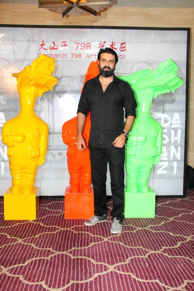 Actor Harman Baweja during the Krishika Lull`s party, in Mumbai on July 2, 2016. - Harman Baweja