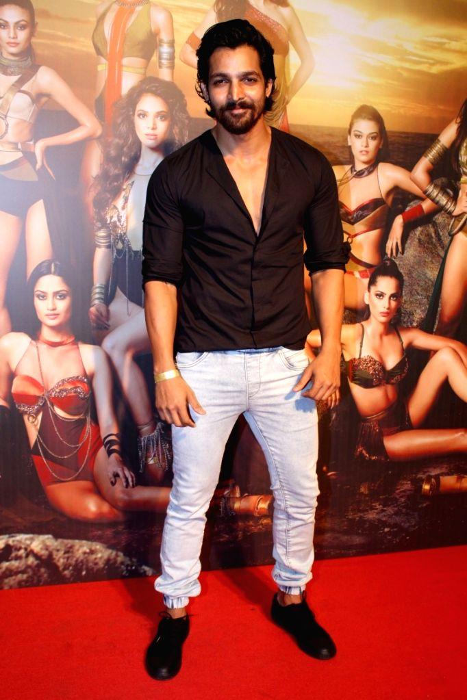 """Actor Harshavardhan Rane at the star studded red carpet of """"Miss Diva 2017"""" in Mumbai on Sept 18, 2017. - Harshavardhan Rane"""