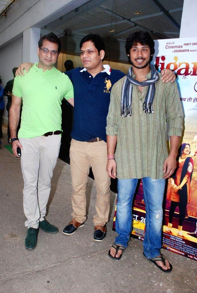 Actor Harshvardhan Deo during the trailer launch of film Jigariyaa, in Mumbai, on Aug. 26, 2014. - Harshvardhan Deo