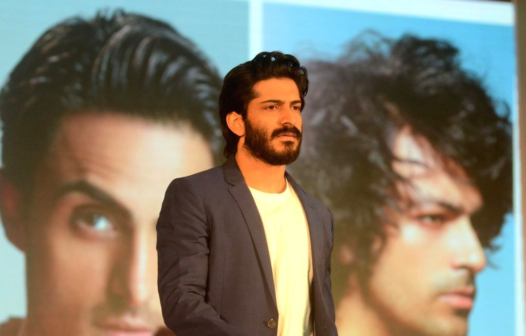 Actor Harshvardhan Kapoor at the launch of a male grooming range in Mumbai on Sept 18, 2018. - Harshvardhan Kapoor