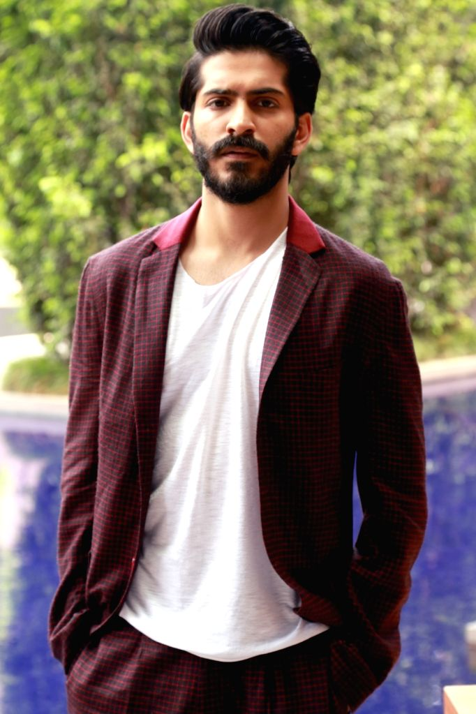 Actor Harshvardhan Kapoor during the promotion of his upcoming film 'Mirzya' in New Delhi on Oct 4, 2016. - Harshvardhan Kapoor
