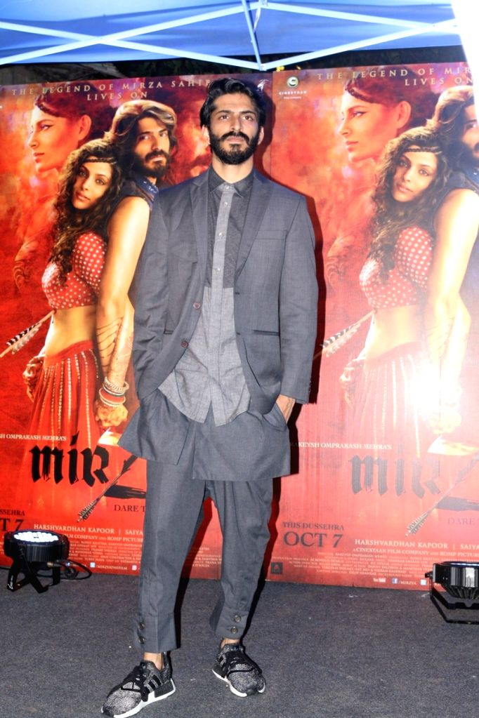 Actor Harshvardhan Kapoor during the red carpet for get together of film Mirzya in Mumbai on Sept 26, 2016. - Harshvardhan Kapoor