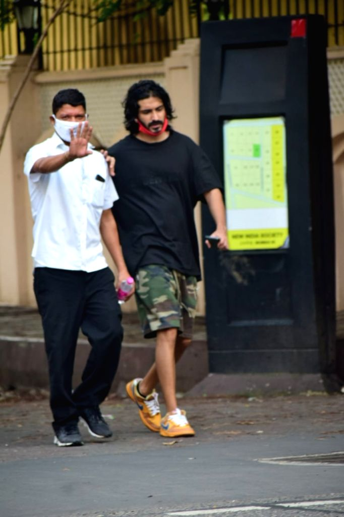 Actor Harshvardhan Kapoor seen at Juhu in Mumbai on Oct 6, 2020. - Harshvardhan Kapoor