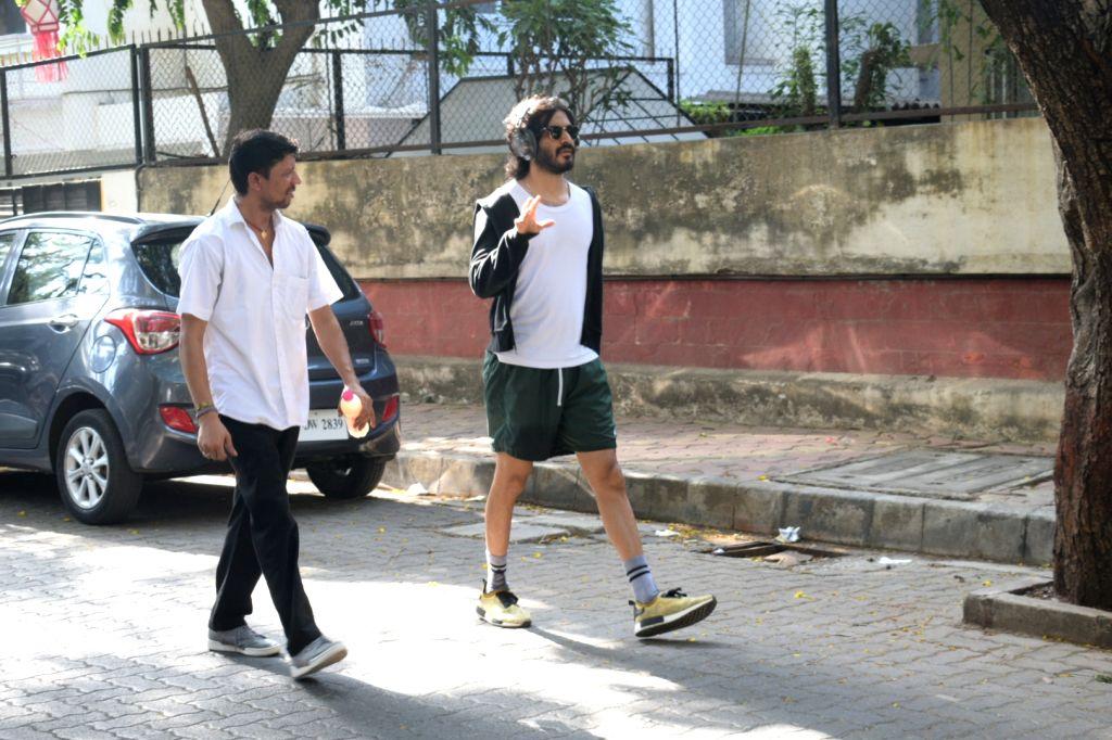 Actor Harshvardhan Kapoor seen at Juhu, Mumbai on May 20, 2019. - Harshvardhan Kapoor