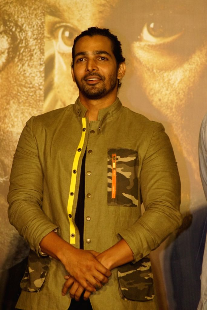 "Actor Harshvardhan Rane at the trailer launch of his upcoming film ""Paltan"", in Mumbai on Aug 2, 2018. - Harshvardhan Rane"