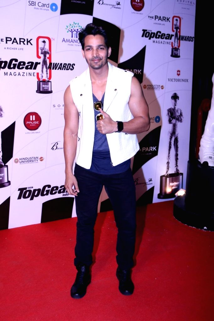 Actor Harshvardhan Rane during the 9th Topgear Magazine Awards in Mumbai on Jan 25, 2017. - Harshvardhan Rane