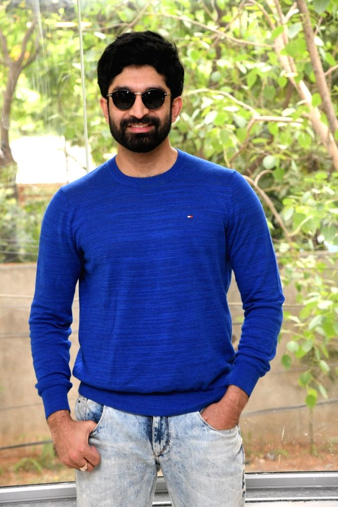 Actor Havish during a interview in Hyderabad. - Havish