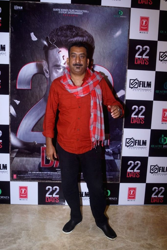 """Actor Hemant Pandey at the trailer launch of upcoming film """"22 Days"""" in Mumbai, on July 24, 2018. - Hemant Pandey"""