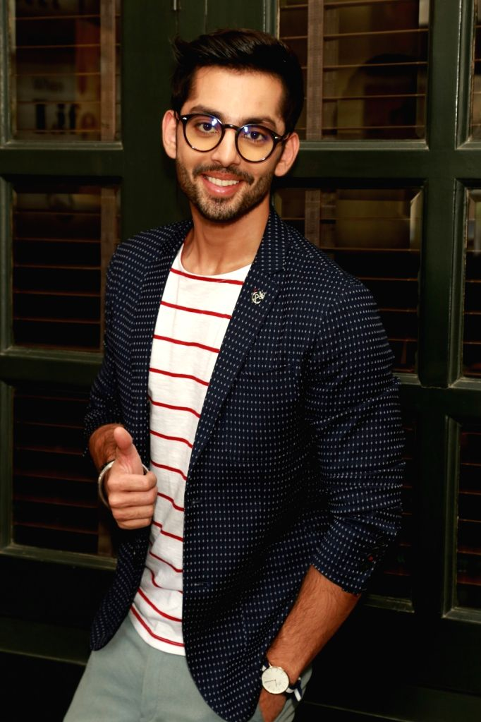 "Actor Himansh Kohli during a press conference to promote his upcoming film ""Sweetie Weds NRI"" in New Delhi, on May 25, 2017. - Himansh Kohli"