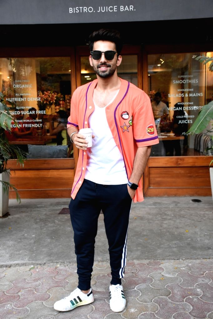 Actor Himansh Kohli seen at Bandra, in Mumbai, on June 2, 2019. - Himansh Kohli