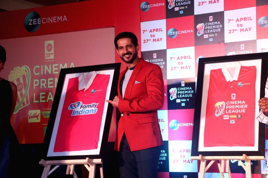Actor Hiten Tejwani at the launch of Zee Cinema Premier League in Mumbai on April 5, 2018. - Hiten Tejwani