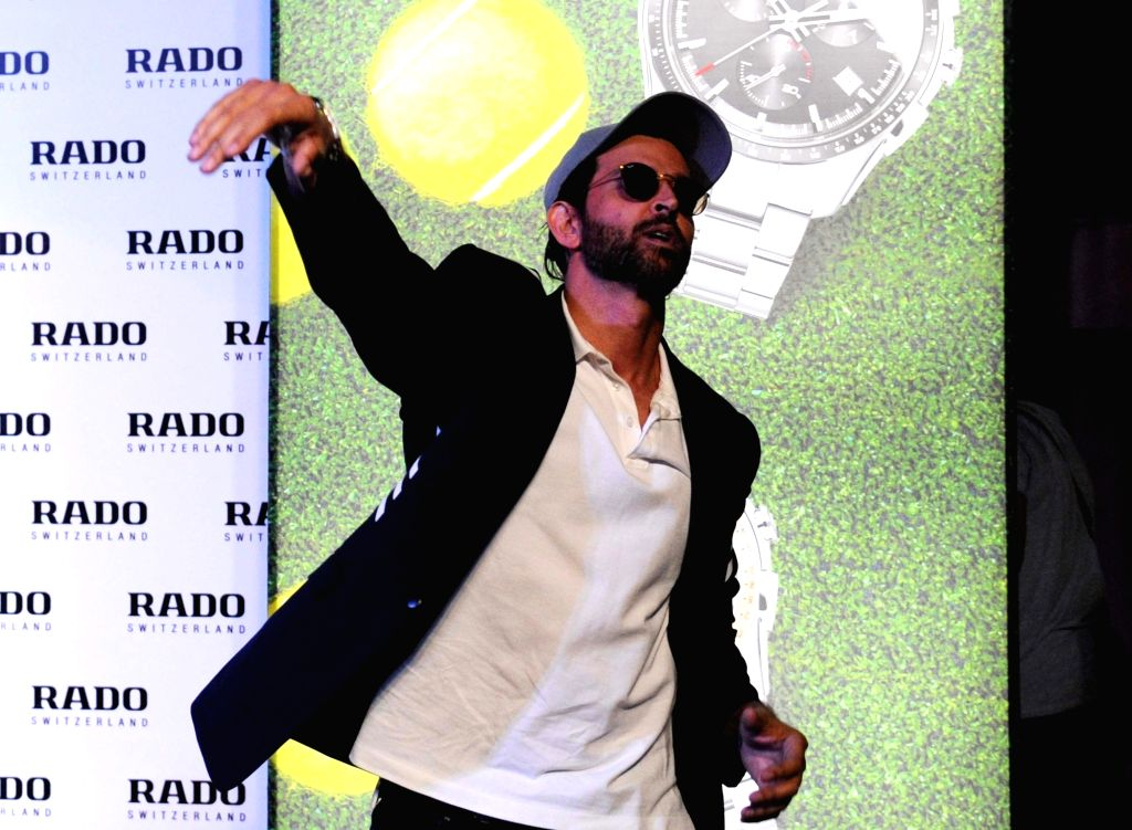 Actor Hrithik Roshan during the launch of watch collection at UB City in Bengaluru on Nov 28, 2017. - Hrithik Roshan