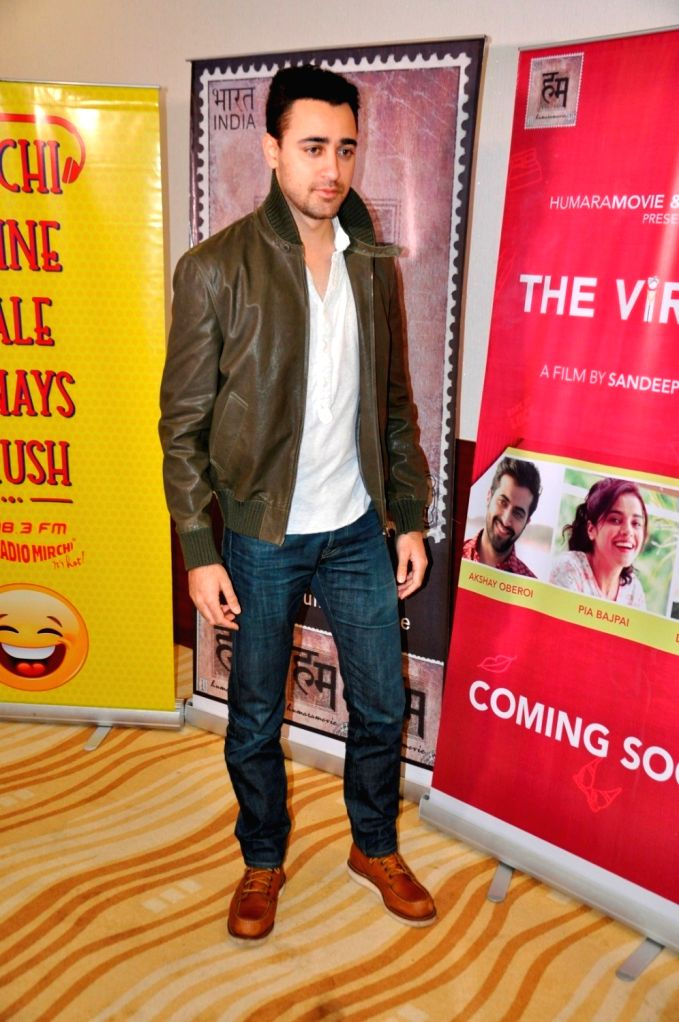 Actor Imaran Khan during the special screening of short film `The Virgins` in Mumbai, on June 30, 2016. - Imaran Khan