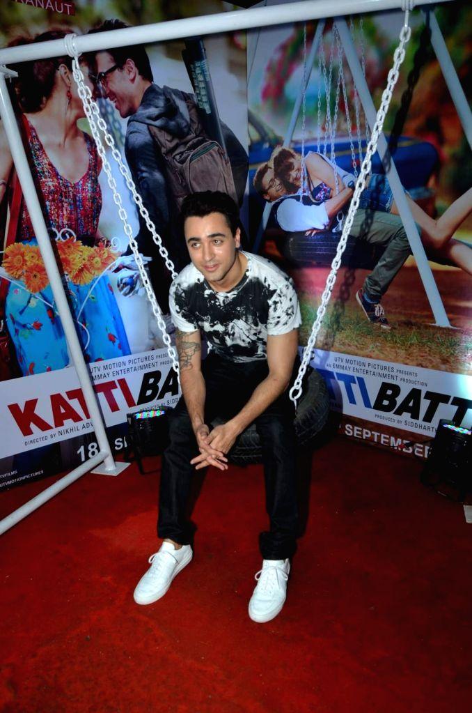 Actor Imran Khan during the promotion of film Katti Batti at the college festival Umang 2015, in Mumbai, on Aug 17, 2015. - Imran Khan