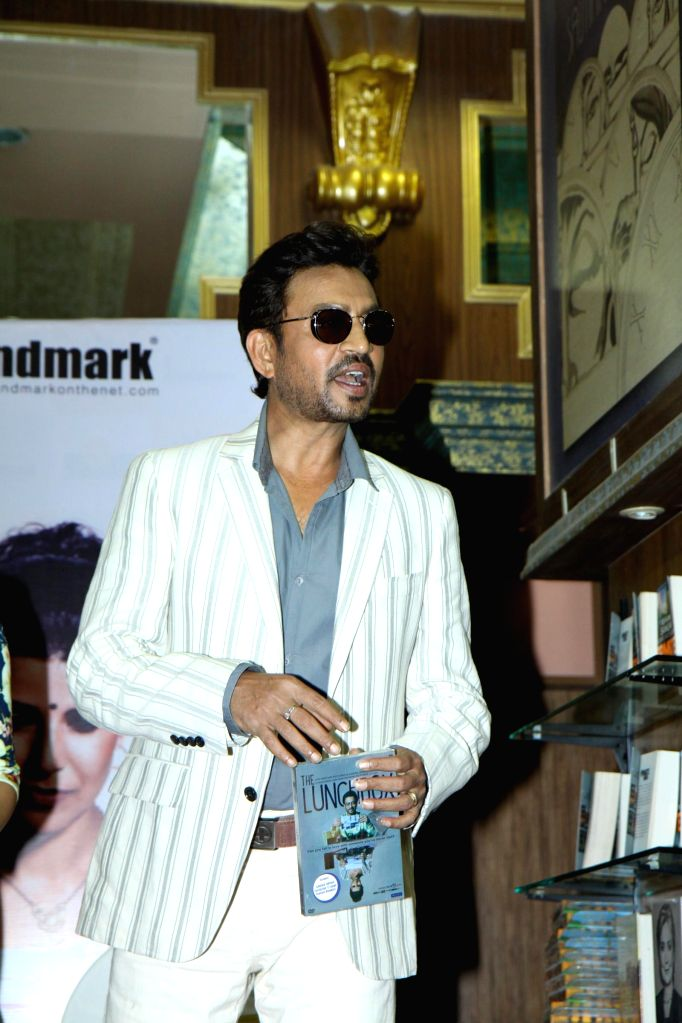 Actor Irrfan Khan during the DVD launch of film The Lunchbox in Mumbai on August 6, 2014. - Irrfan Khan