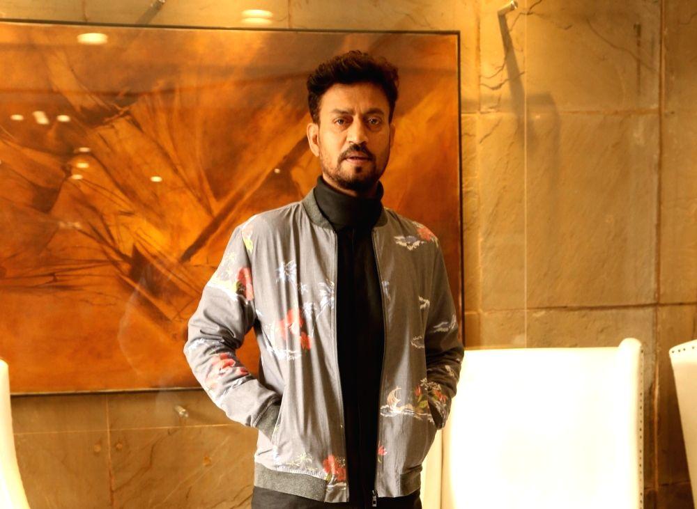 Actor Irrfan Khan. (File Photo: IANS) - Irrfan Khan