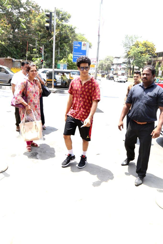 Actor Ishaan Khattar seen at Bandra, in Mumbai, on June 2, 2019. - Ishaan Khattar