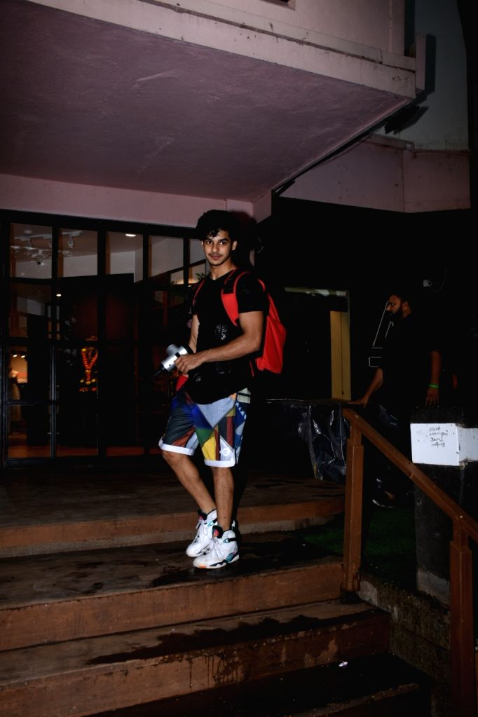 Actor Ishaan Khattar seen at Bandra in Mumbai, on July 15, 2019. - Ishaan Khattar