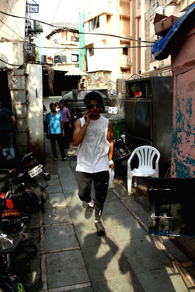 Actor Ishaan Khattar seen at Mumbai's Bandra on May 25, 2018. - Ishaan Khattar
