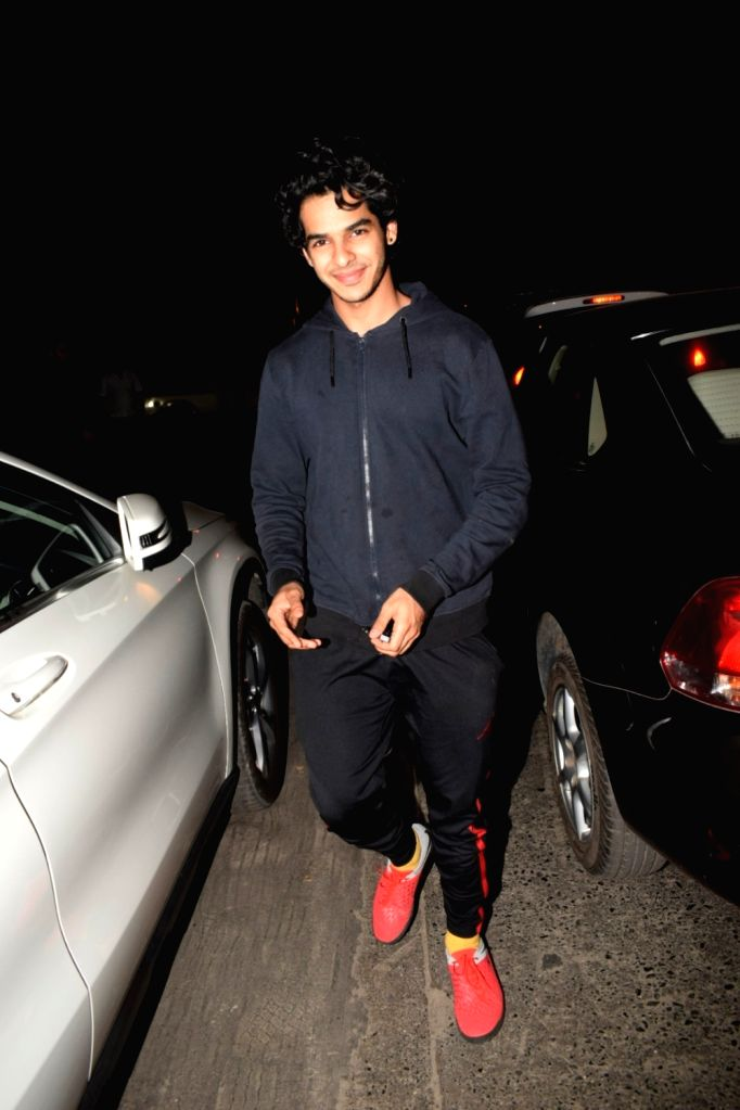 Actor Ishaan Khattar seen at Soho House in Juhu in Mumbai, on Dec 11, 2018. - Ishaan Khattar