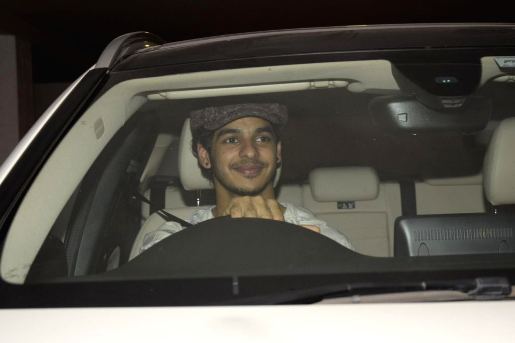 Actor Ishaan Khatter arrives to attend Halloween party at Karan Johar's house in Mumbai on Nov. 1, 2018. - Ishaan Khatter