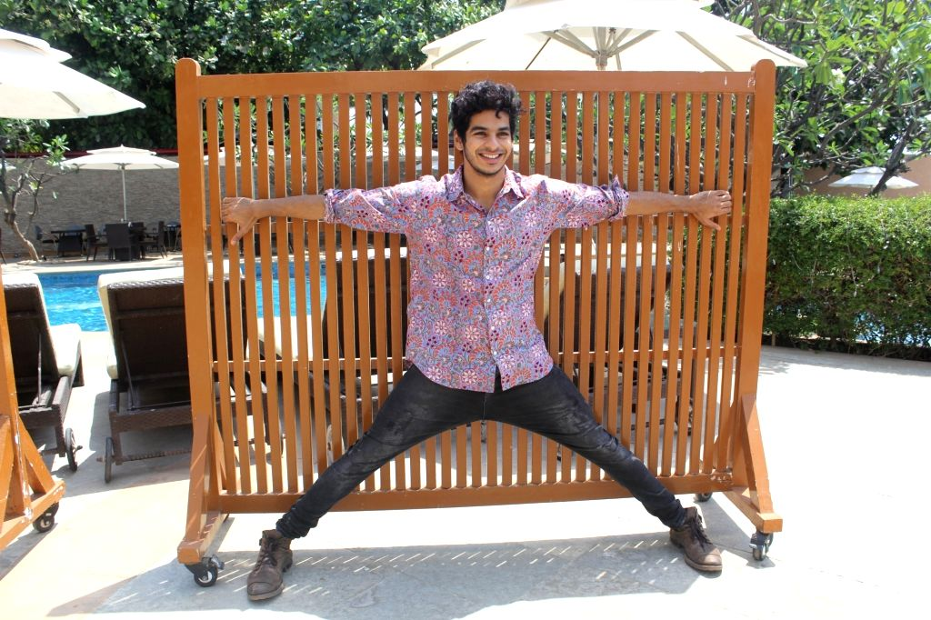 """Actor Ishaan Khatter at the promotion of his upcoming film """"Beyond the Clouds"""" in Mumbai on April 3, 2018. - Ishaan Khatter"""