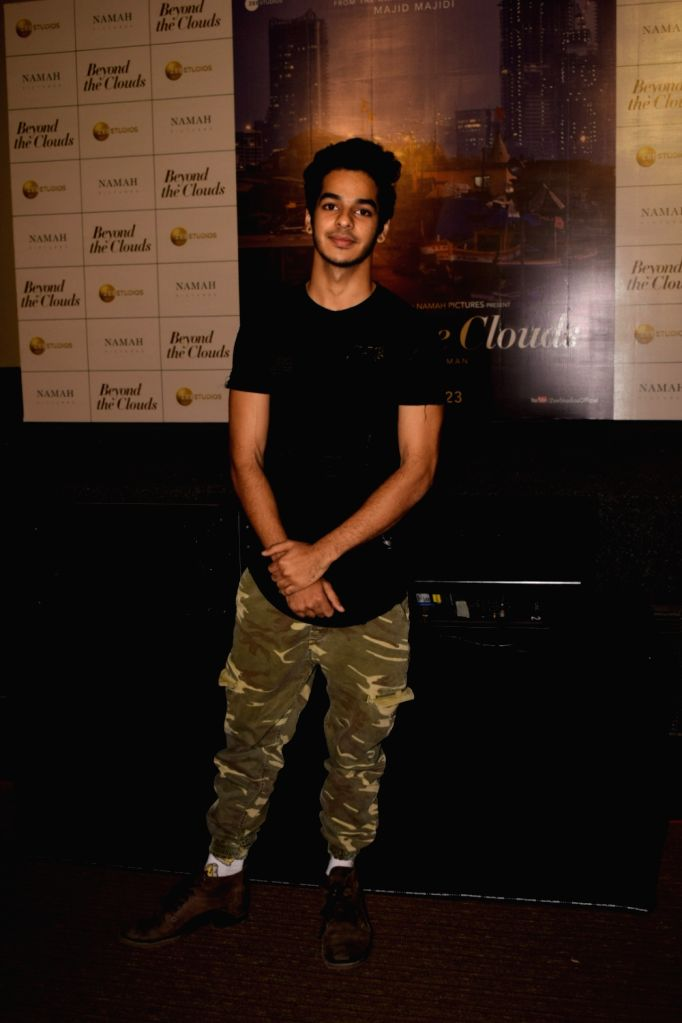 "Actor Ishaan Khatter at the trailer launch of his upcoming film ""Beyond the Clouds"" in Mumbai on Jan 29, 2018. - Ishaan Khatter"