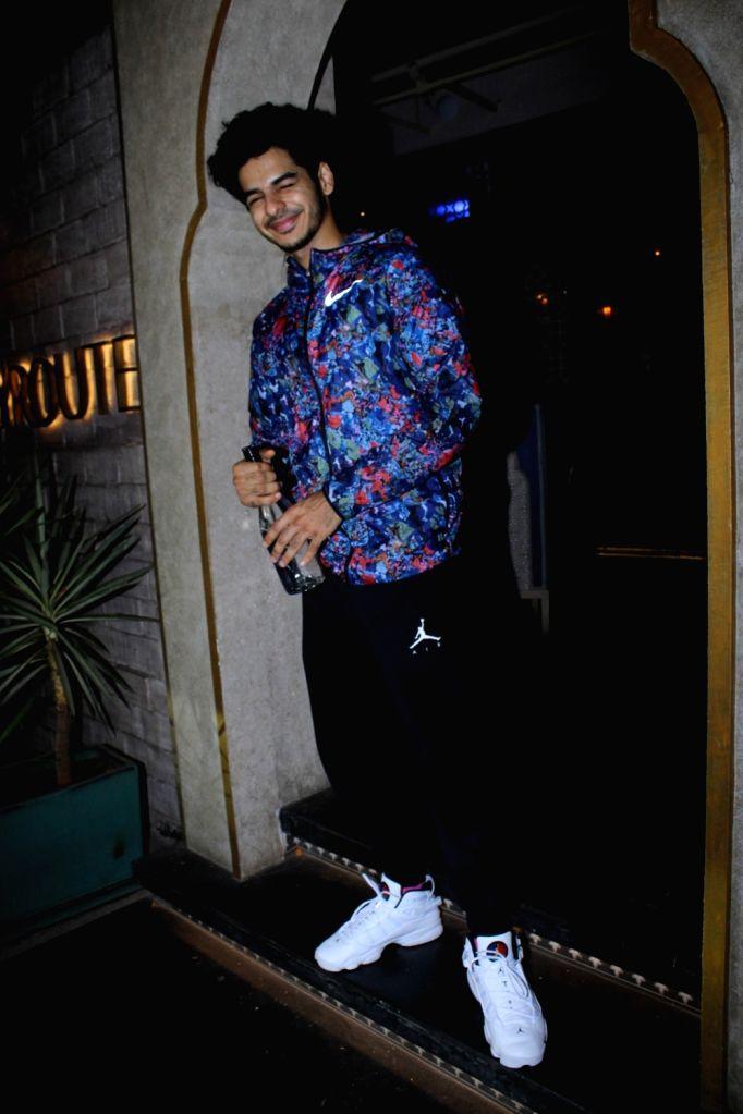 Actor Ishaan Khatter seen in Mumbai's Juhu, on May 26, 2019. - Ishaan Khatter