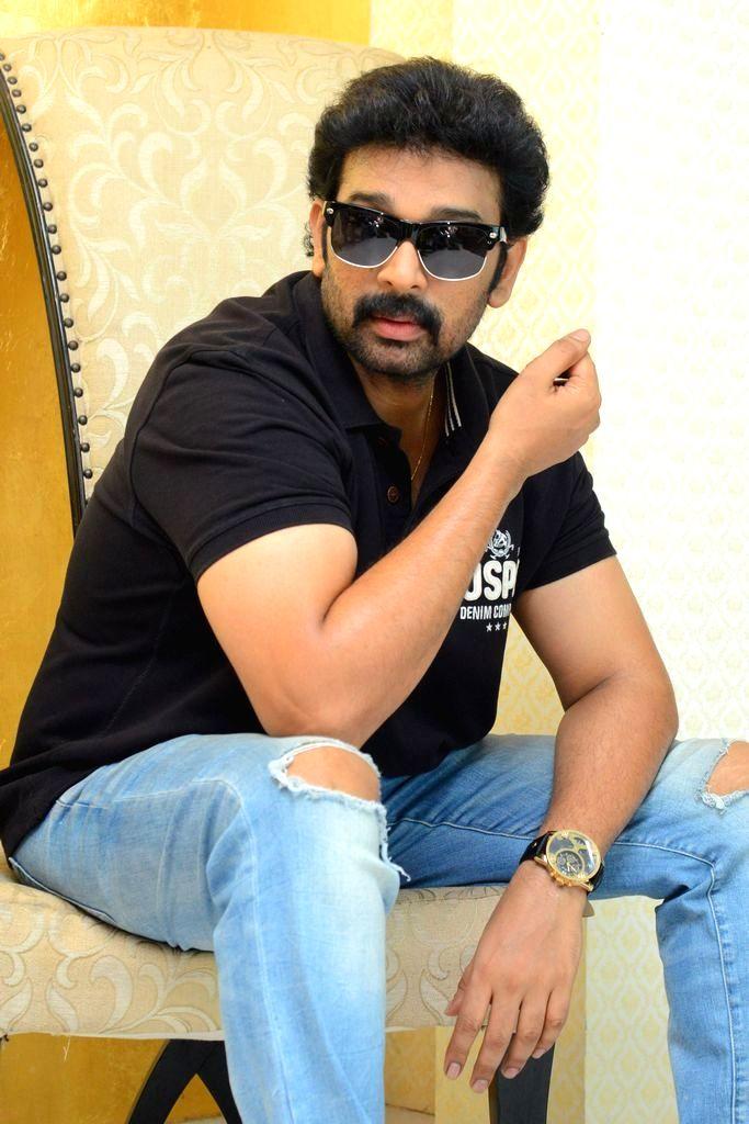 Actor J. D. Chakravarthy during a interview in Hyderabad. - J. D. Chakravarthy