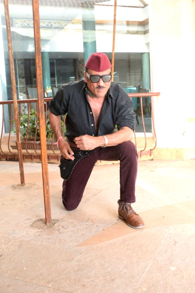 "Actor Jackie Shroff at the promotion of his upcoming film ""Prasthanam in Mumbai, on Aug 26, 2019. - Jackie Shroff"